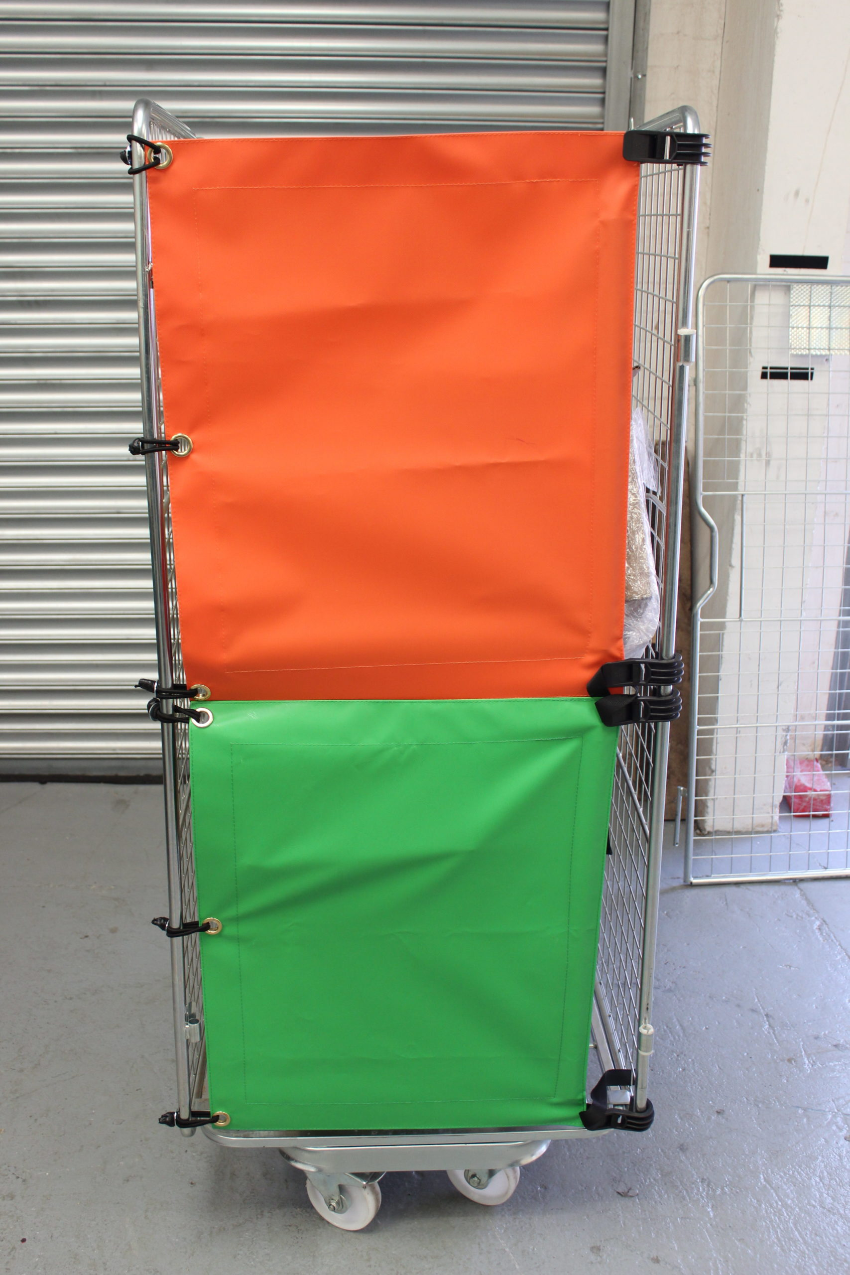 Roll Cage Trolley Covers in Stoke