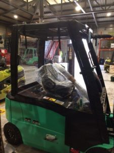 Forklift Covers in Leeds