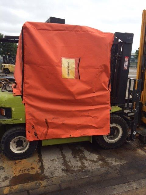 Forklift Covers in Chesterfield