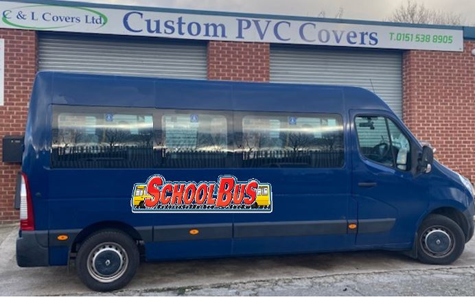 School bus Covid protection dividing screens available in the Wirral area – Only £180.00 fitted